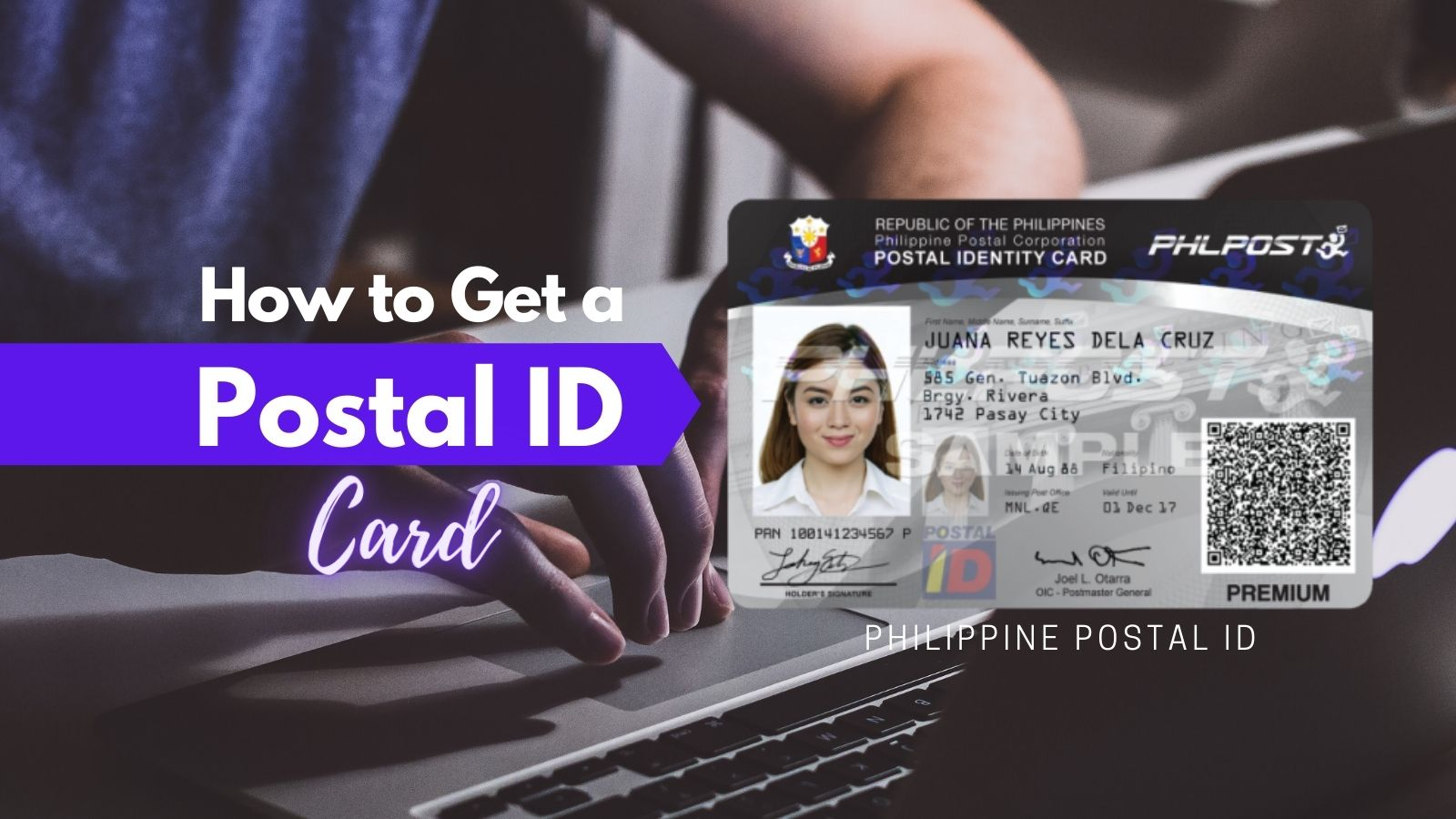 how to get postal id card philippines