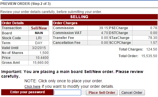 how to sell stocks online pse