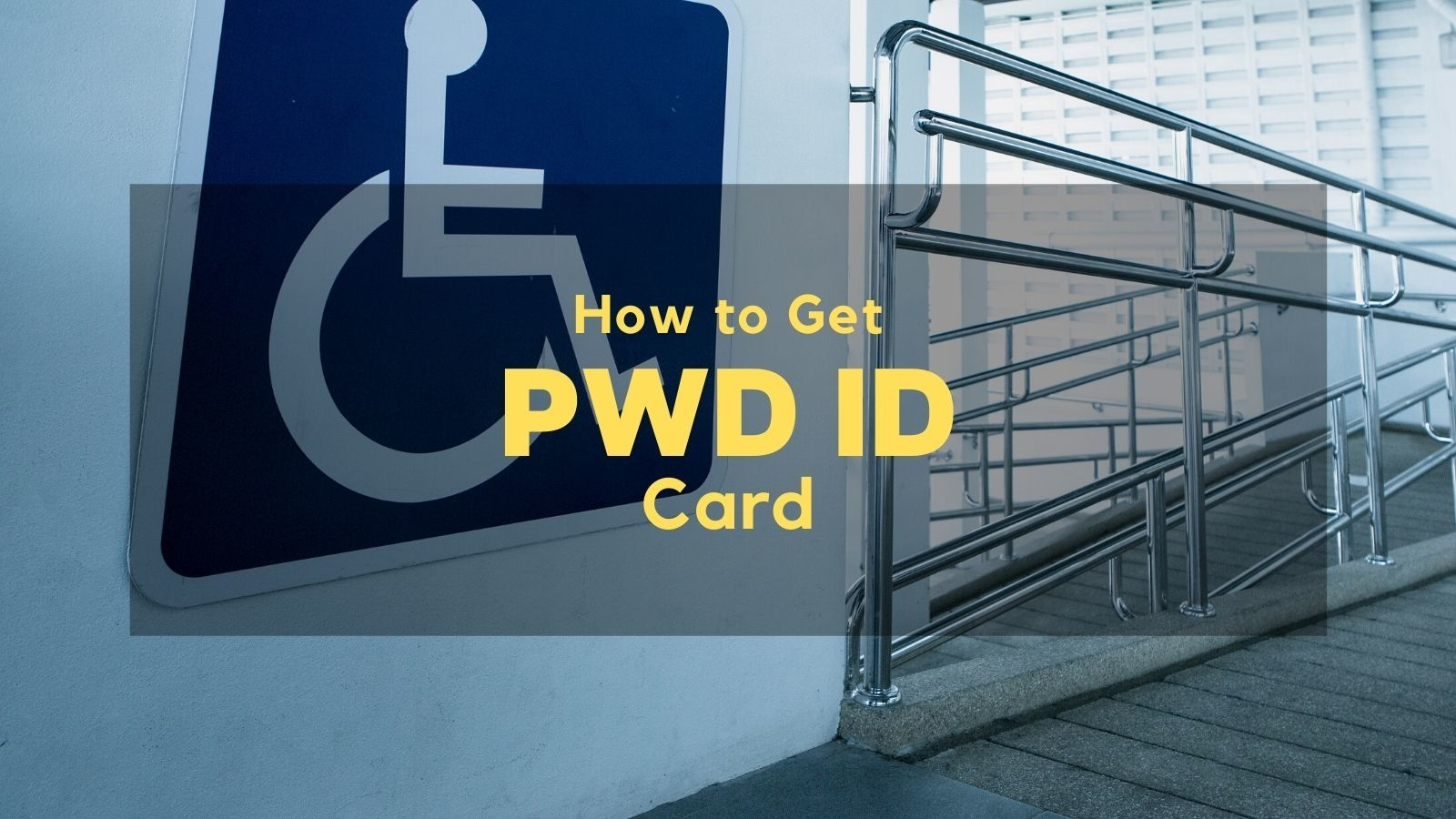 how to get pwd id in the philippines
