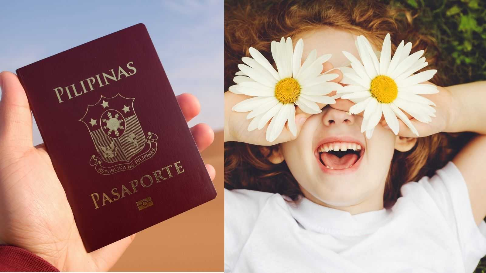 passport requirements for minors philippines