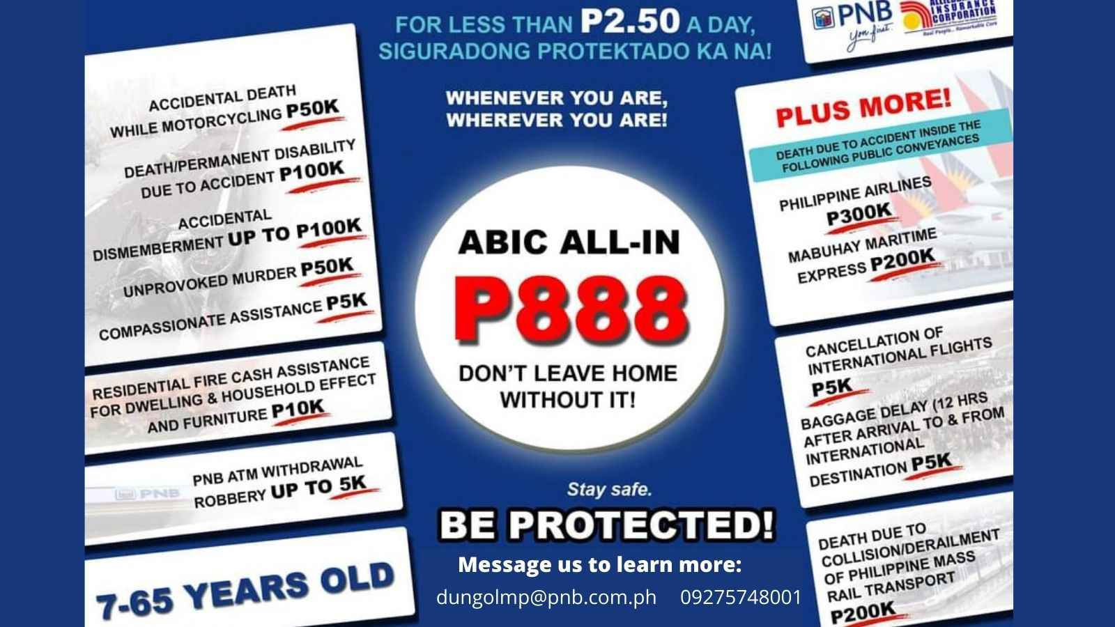 best personal accident insurance philippines